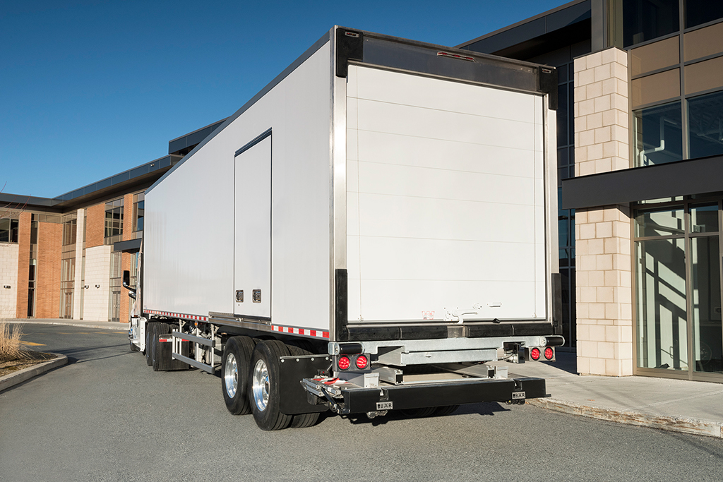 Transforcool Shows Off Composite Refrigerated Semi Trailer